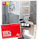 Toilet Stickers of Funny Animal Pig(CEG50100)
