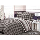 4-pc Jersey Star Emerizing Cotton Full Size and Queen Size Duvet Cover Set - Free Shipping (0580-9s606804)
