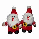 Lovely Plush Santa Claus Stereo Speaker for DVD - AM - FM radio - MP3 (SMQ3477)