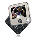 Q1 Dual Card Quad Band QWERTY Keypad Rotary Touch Screen Cell Phone Black (2GB TF Card)