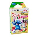 Fuji Instax Mini Instant Film 7 7S 25 55 55i Stitch 10 Color Photos (DCE124)
