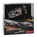 Rechargeable R/C Model LED Racing Car with Desktop Stand (40MHz)