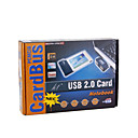 2-Port USB 2.0 PCMCIA Expansion Card for Laptops