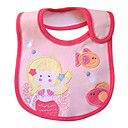 Pink Mermaid Baby's Bib - Waterproof