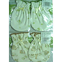 1-Piece Organic Cotton Newbron Baby Mittens