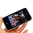 TV I999+ Dual Card Quad Band TV JAVA 3.2 Inch Touch Screen Cell Phone Black (2GB TF Card)