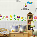 Decorative Clock Wall Sticker (0752 -HZ-15A073)