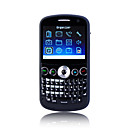 C9000 Dual Card Dual Camera Quad Band TV QWERTY Keypad Cell Phone Black (2GB TF Card)