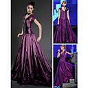 A-line Square Court Train Capped Taffeta Taylor Swift Dress / Evening Dress (FSD0321)