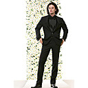 1 Button  Center-vented Shawl Lapel NarrowWool  Groom Wear/ Tuxedo/ Men's Suit Jacket & Pants