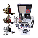 Free Shipping Professional Tattoo Machine Kit Completed Set With 3 Tattoo Gun Machines(0359-03.16-T012)