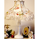 Peony Pearl Swag Lace Table Lamp(0836-QY-848B)