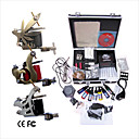Professional Tattoo Machine Kit Completed Set With 3 Tattoo Gun Machines