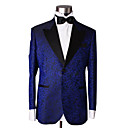 1 Button Center-Vented Peak Lapel Wool Groom Wear/ Tuxedo/ Men's Suit Jacket and Pants