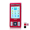 W1500 Dual Card Dual Camera Quad Band with TV JAVA Function Touch Screen Slide Cell Phone (2GB TF Card)