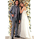 Single-Breasted 2 Button Side-vented  Peak Lapel WideWool  Groom Wear/ Tuxedo/ Men's Suit Jacket & Pants