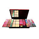 107 Colors Makeup Palette D5190 - 90 Colors Eye Shadows + 8 Colors Blusher + 5 Colors Face Powder + 4 Colors Lip Gloss + Makeup Brushes