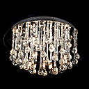 Crystal Glass 6-light Ceiling Light(0863-4528)