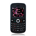K900 Low Price Dual Card FM Radio Torch QWERTY Keypad Cell Phone Black (2GB TF Card)