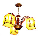 Antique 3-light Hanging Lamp(0860-J-1132~3)