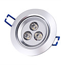 3W 220-250LM Warm White Ceiling Lamp/Down Light With LED Driver (85-265V)