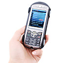 HOOD Dual Card Quad Band Bluetooth Model Car Touch Screen Cell Phone Black and Red (2GB TF Card)