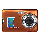 Face Detection 12 MP Digital Camera with 2.7 Inch LCD Display and 8Digital Zoom