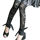 Perspective Flowers Lace Legging / Women's Leggings (FF-8205BD112-0857)