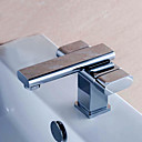 CLEARANCE - Two Handles Chrome Centerset Bathroom Sink Faucet (0567 -HY1896C)