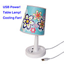 USB Power Table Lamp with Cooling Fan(QW071)
