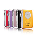 Micro SD Card Reader MP3 Player With Speaker/LED Light/Clip - 5 Colors Available(HF174)