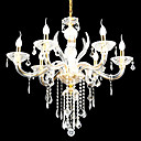 6-lumire de bougie k9 lustre de cristal (0944-hh11006)