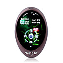I5+ Dual Card Quad Band Bluetooth Touch Screen Cell Phone Coffee(2GB TF Card)