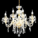 Candle 6-light K9 Crystal Chandelier(0944-HH11029)
