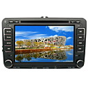 "7"" TFT LCD Digital Touch Screen 2 Din Car DVD Player - GPS - DVB-T - FM - Bluetooth - IPOD - RDS For Skoda Superb-GOLF5-GOLF6 2007-2009"