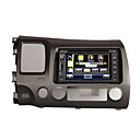 "7 ""digitale touch screen 2-din auto dvd-speler voor de Honda Civic 2005-2009-gps-stuurwiel control-RDS-ipod-bluetooth-tv"