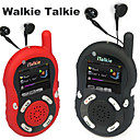 mp4 1,8 lcd 0,5 W en espera 100 fm radio walkie talkie horas (xhs051)