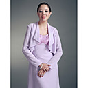 Longsleeves Chiffon Special Occasion Jacket/ Wedding Wrap