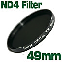 emolux neutrale dichtheid 49mm ND4 filter (sqm6000)