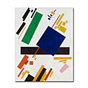 Handmade Suprematist Composition  Painting by Kazimir Malevich(0192-YCF103679)