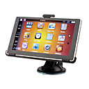 Car GPS Navigator With Free Map + 6 Inch Touchscreen + FM Transmitter + Edog + Built-in 4G Memory