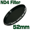 Emolux Neutral Density 52mm ND4 Filter(SQM6001)
