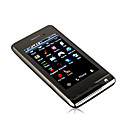 F1 Dual Card Dual Camera TV WIFI JAVA 3.0 Inch Touch Screen Cell Phone Black(2GB TF Card)