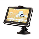 4.3 Inch Portable TFT Touch Screen Car GPS Navigator - Built-in 2GB Memory - Media - Games