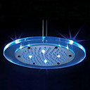 8 inch Shower Head with Color Changing LED Light (Round)