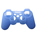 Protective Silicone Case for PS3 Controller (Light Blu)
