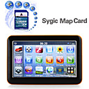 "Portable 5"" Touch Screen Car GPS Navigator With Original Sygic Map Card-Media-Games-FM Transmitter"
