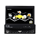 "7 ""motorisierte Touchscreen 1-DIN-Car DVD-Player-abnehmbares Bedienteil-RDS-ipod-bluetooth-tv (szc6163)"
