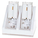 Dual Battery Charging Station with 600mAh Rechargeable Batteries for Wii