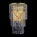 Luxury Crystal Wall Light with 3 lights K9 Crystal (Gold Plating)